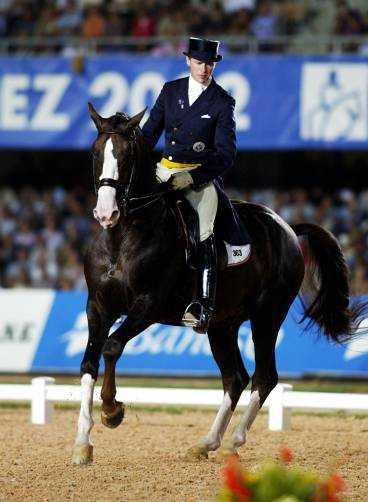 Jan Brink och hästen Briar.