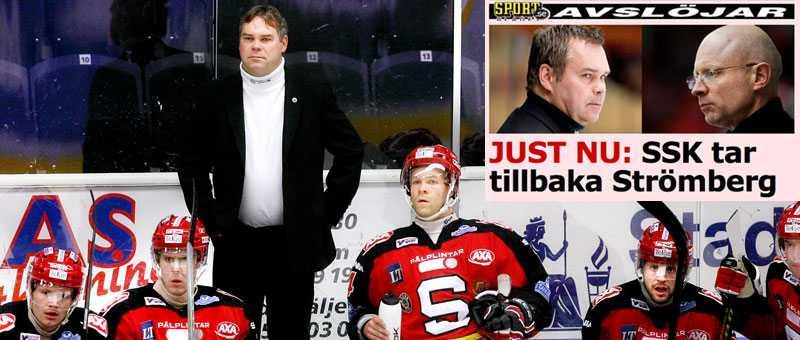 Tillbaka 16.15 avslöjade sportbladet.se att Leif Strömberg gör comeback i krislaget SSK:s bås.