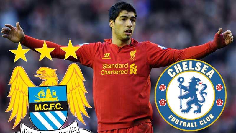 Manchester City och Chelsea kan glömma Suarez, enligt Liverpools ordförande.