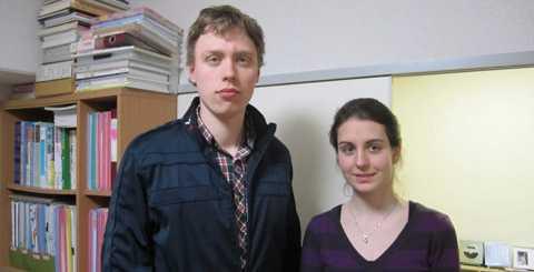 Paret Per Mackegård och Regina Johansson.