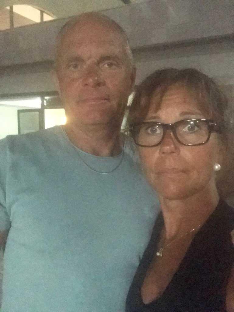 Camilla Ask, 47, och Anders Blixt, 50, från Borrby i Skåne.