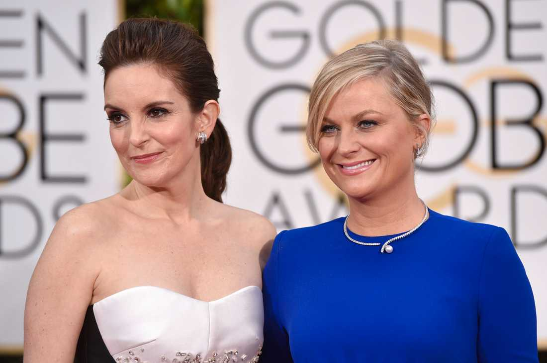 Tina Fey och Amy Poehler programleder årets Golden Globe-gala.