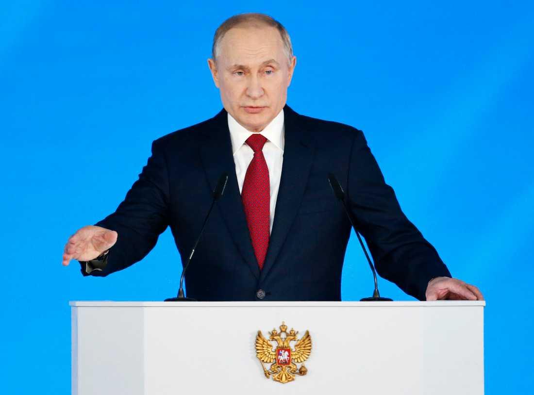 Vlaidmir Putin, president i Ryssland.