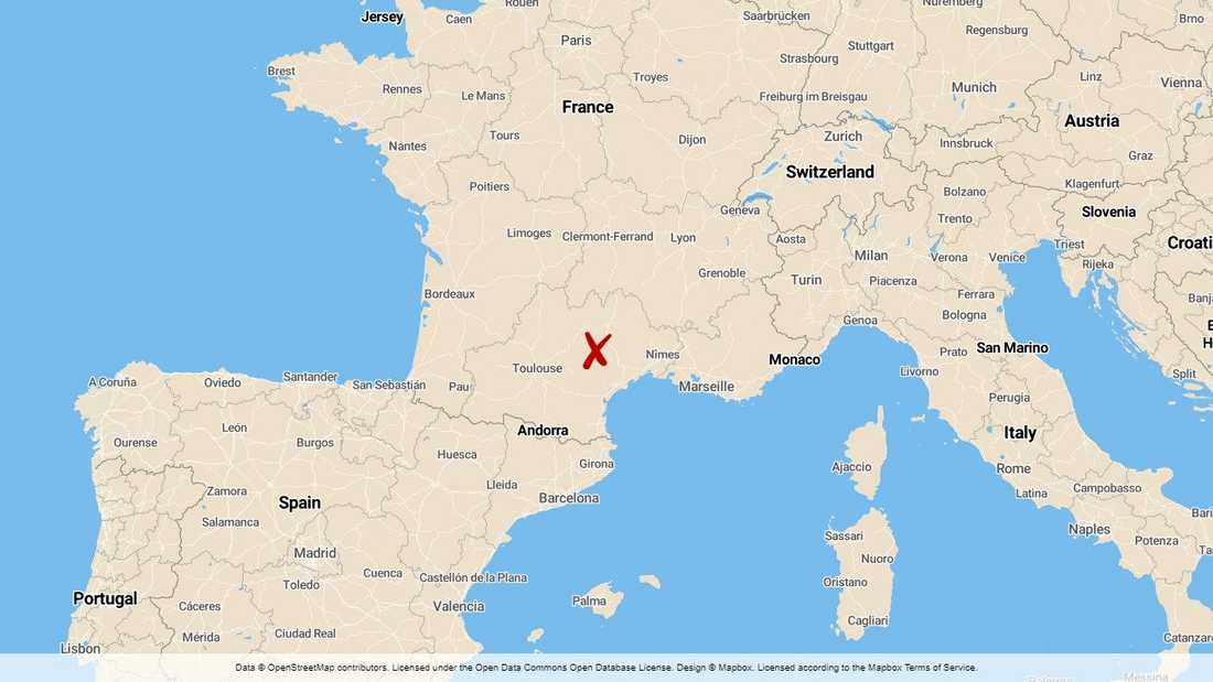 Creissels i södra Frankrike.