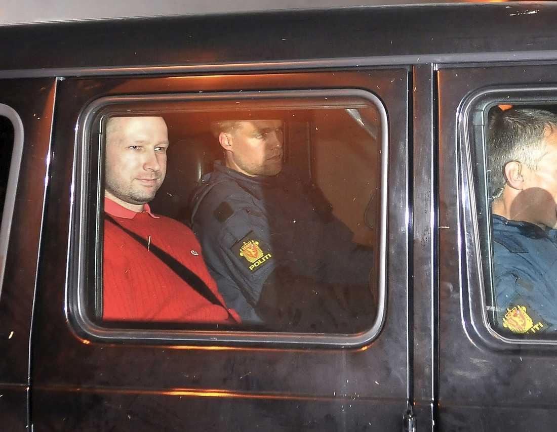 Anders Behring Breiviks häktning skapade uppståndelse.
