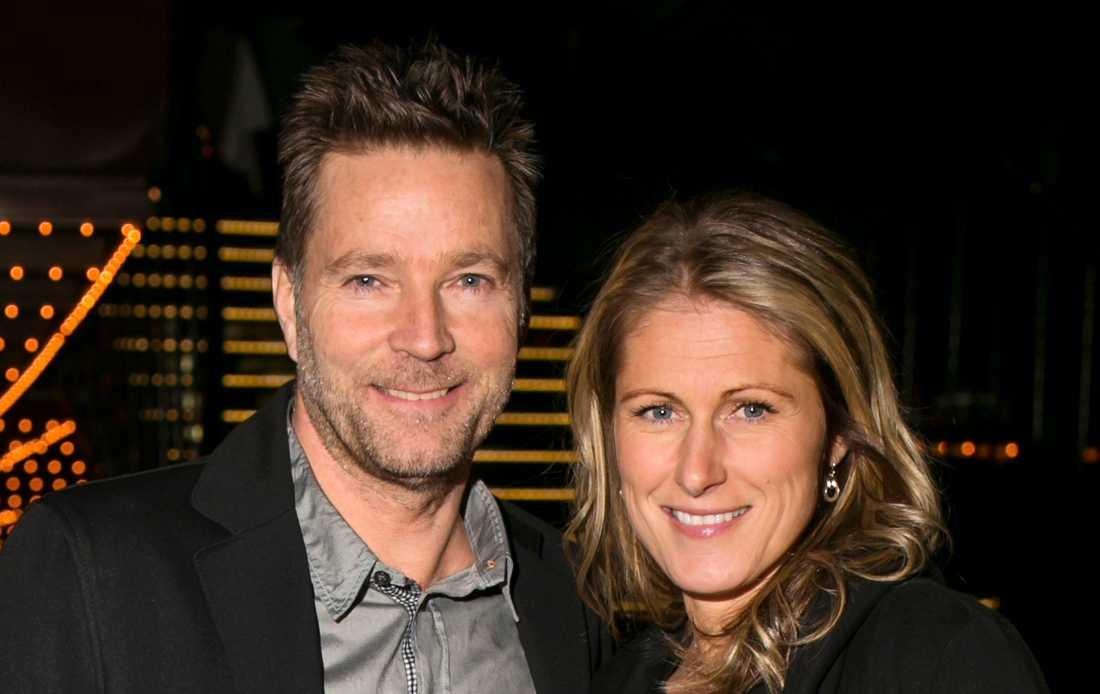 Martin Lamprecht var tidigare gift med sportstjärnan Erica Johansson.