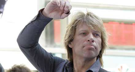 Inte nöjd –Jon Bon Jovi.