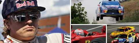 Kimi Räikkönen kan landa i NASCAR.