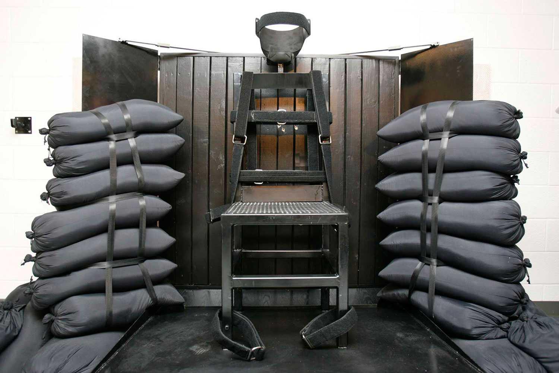 Avrättningskammaren i Draperfängelset i Utah.