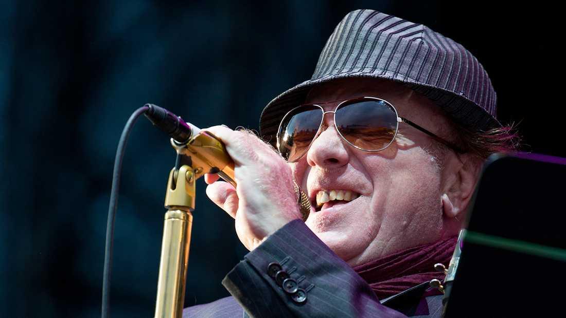 Van Morrison sjunger om Jackie Wilson...