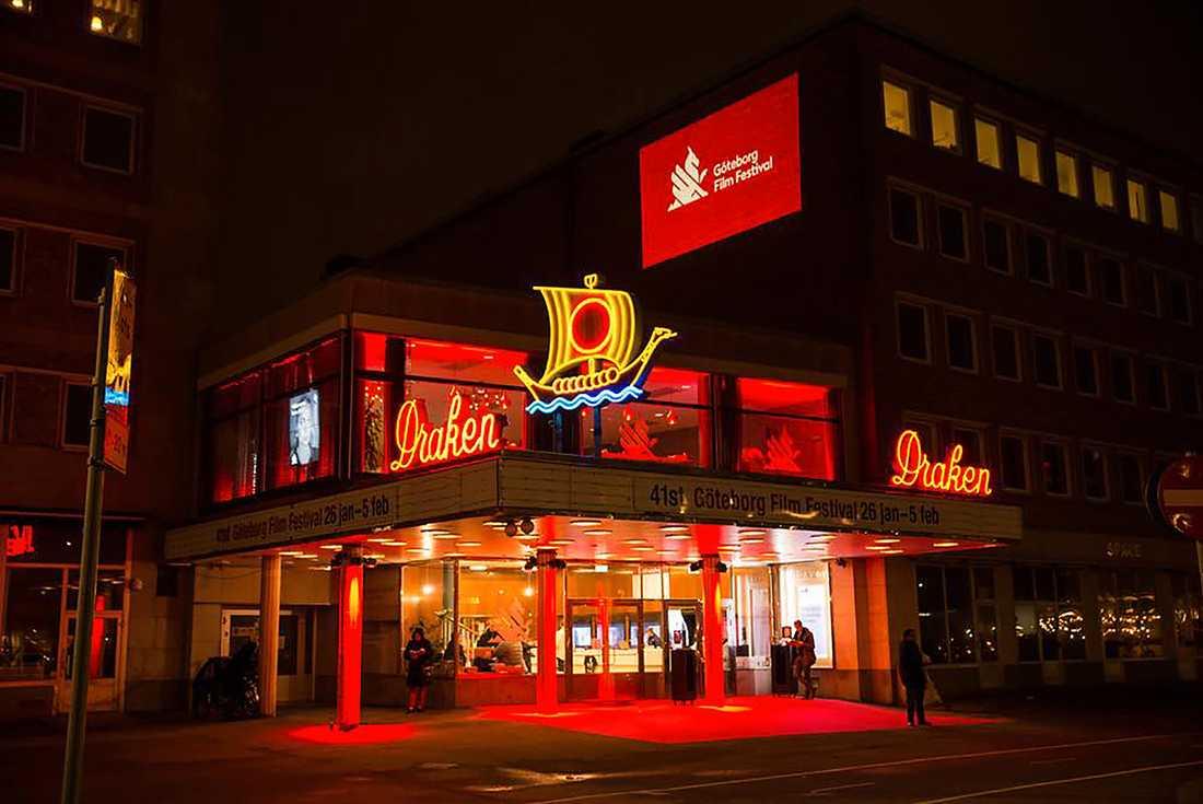 Biograf Draken vid Järntorget i Göteborg.