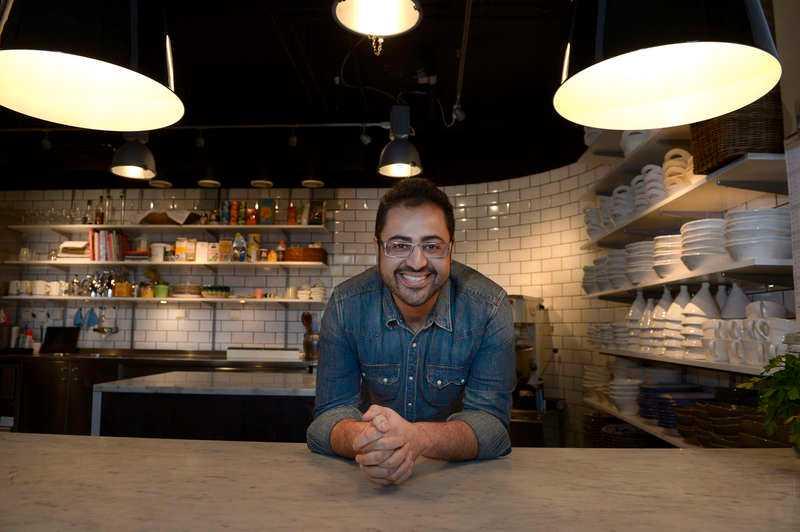Med matlagning med influenser från många håll vann  Amir Kheirmand juryn.