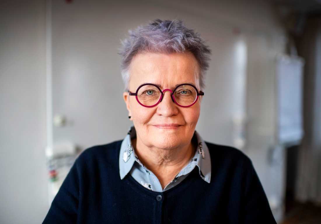 """""""Det är viktigt för människor som känt skam att i stället få känna stolthet över sin bakgrund"""", säger Kerstin Salomonsson, ordförande i Svenska Tornedalingars Riksförbund (STR-T)."""