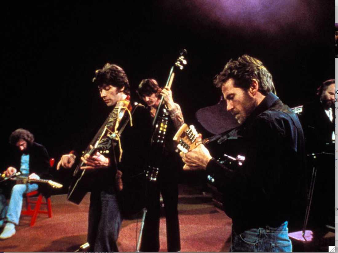 Manuel, Robertson, Danko, Helm och Hudson – The Band.