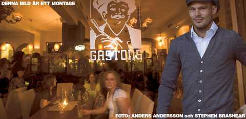 TAR ÖVER Fredrik Ljungberg har besökt Gastons många gånger som gäst. Nu ger sig Freddie in i krogvärlden – som ägare till favoritrestaurangen.