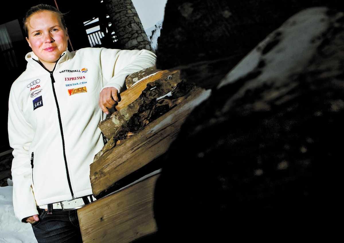Snart bäst Kjetil André Aamodt har 20 mästerskapsmedaljer – men tror att Anja Pärson snart har fler, även om hon inte går om redan i Val D'Isère.