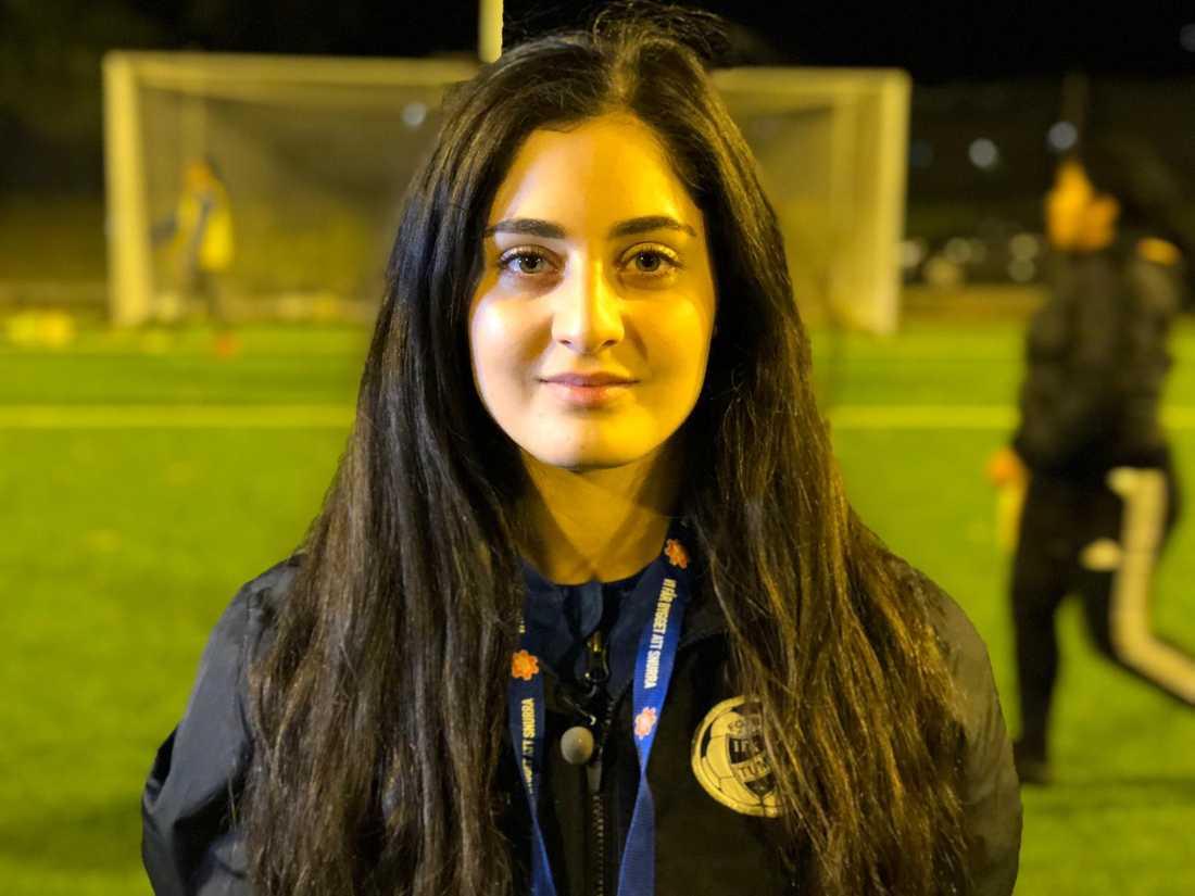 Melissa Besara, 24, startade öppna träningar i Tumba för fyra år sedan.
