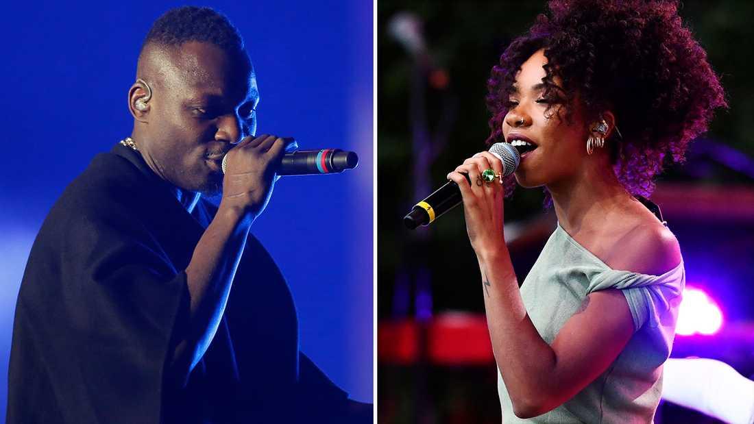 Madi Banja och Janice är två av artisterna som kommer delta under digitala spelningen mot rasism.