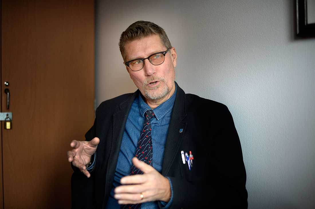 Lars Bylund, utbildningschef i Borgholm.