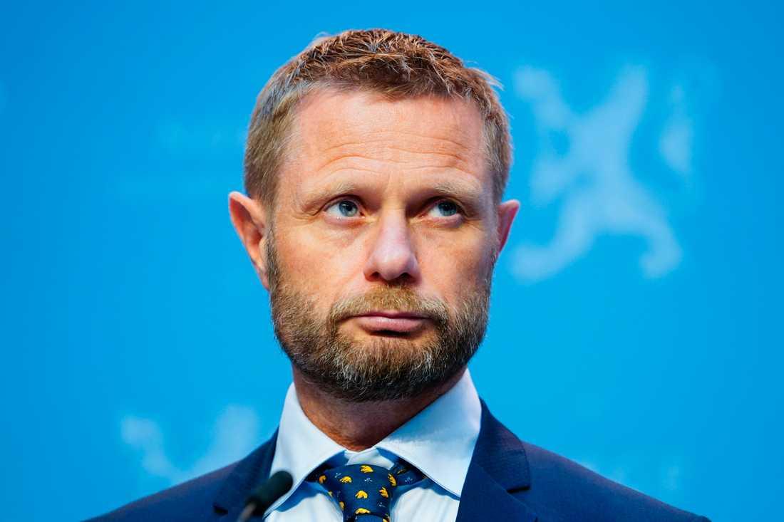 Norges hälsominister Bent Høie (H).