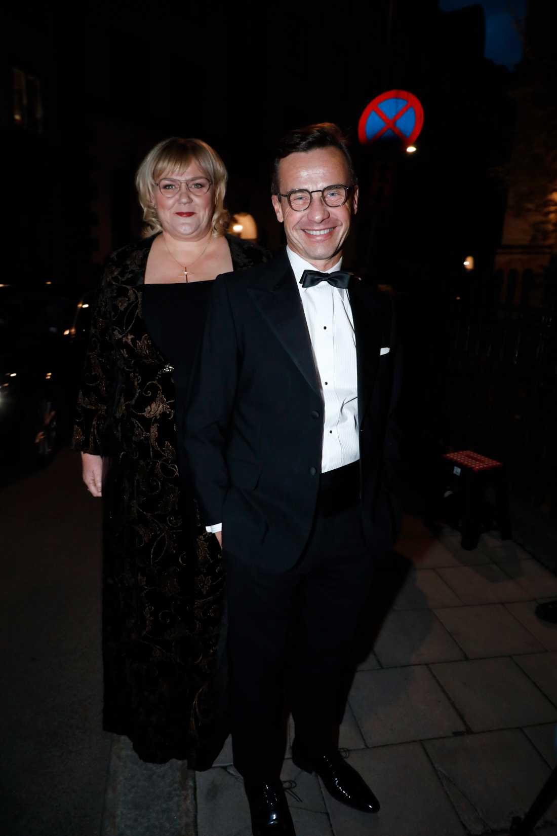 Ulf Kristersson med fru Birgitta Ed.