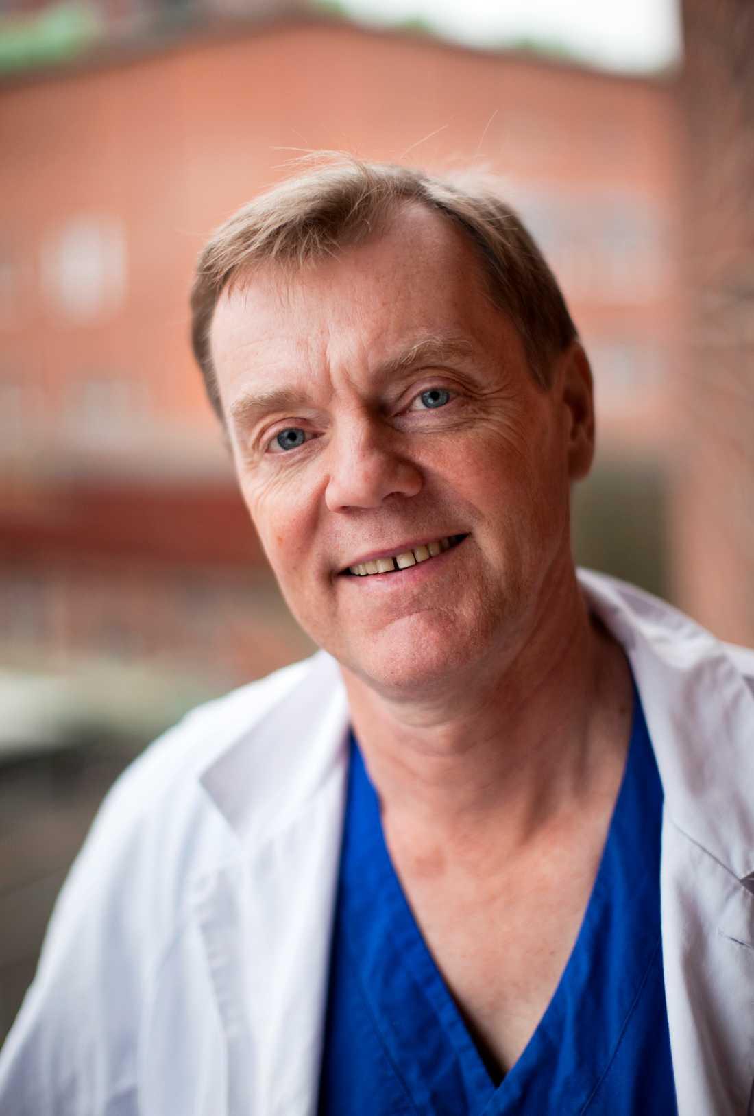 Jonas Hugosson, professor i urologi vid Sahlgrenska akademin samt överläkare vid Sahlgrenska universitetssjukhuset.