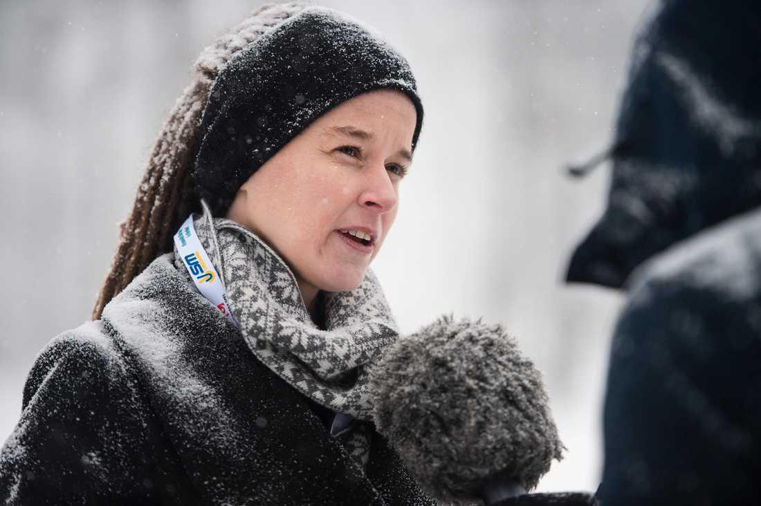 Sveriges kultur- och idrottsminister Amanda Lind.
