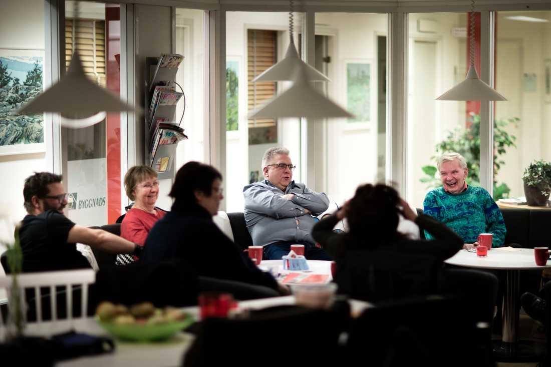 Måndagsklubben i Borås började som en politisk studiecirkel