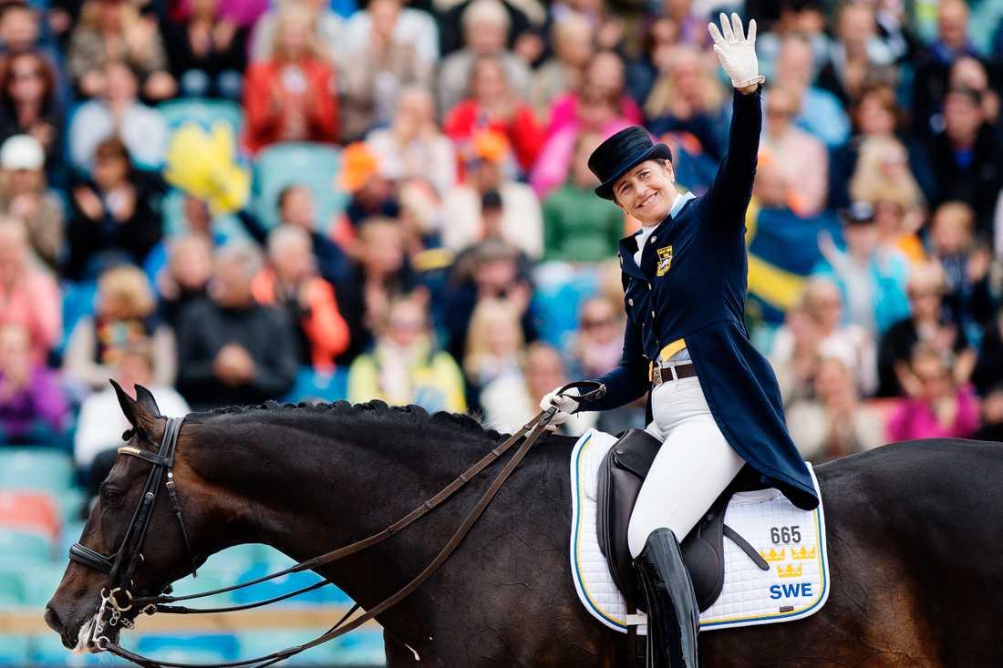 Tinne Vilhelmson Silfvén är på medaljjakt.