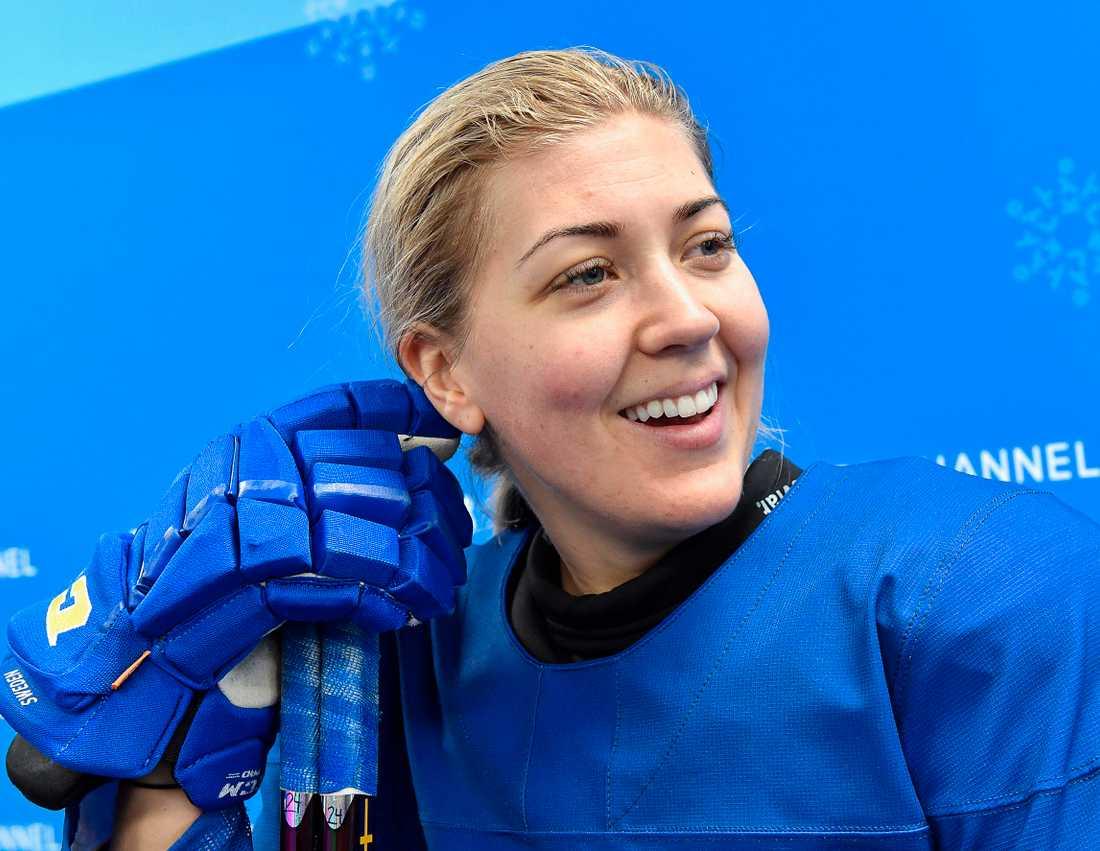 Erika Grahm fokuserar på det sportsliga efter att landslagskonflikten lösts. Arkivbild.