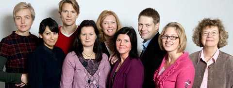 Håller koll TCO har nu inrättat en jämställdhetpanel för att bevaka hur jämställdhetsfrågorna drivs. Panelen består av Ulrika Hagström, TCO, Shadé Jalali, jämställdhetsansvarig, Unionen, PM Nilsson, redaktör, Anna-Karin Eklund, ordförande Vårdförbundet, Kerstin Olsson, presschef TCO, Eva Nordmark Ordförande SKTF, Marin Nilsson, oppositionsråd (s), Tyresö, Helene Sigfridsson, generalsekreterare, Makalösa Föräldrar, Åsa Löfström, docent i nationalekonomi, Umeå. Saknas på bilden: Erik Ullenhag, partisekreterare för folkpartiet.