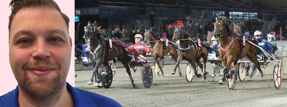Sportbladets Martin Berg tippar V4 från Jägersro Galopp.