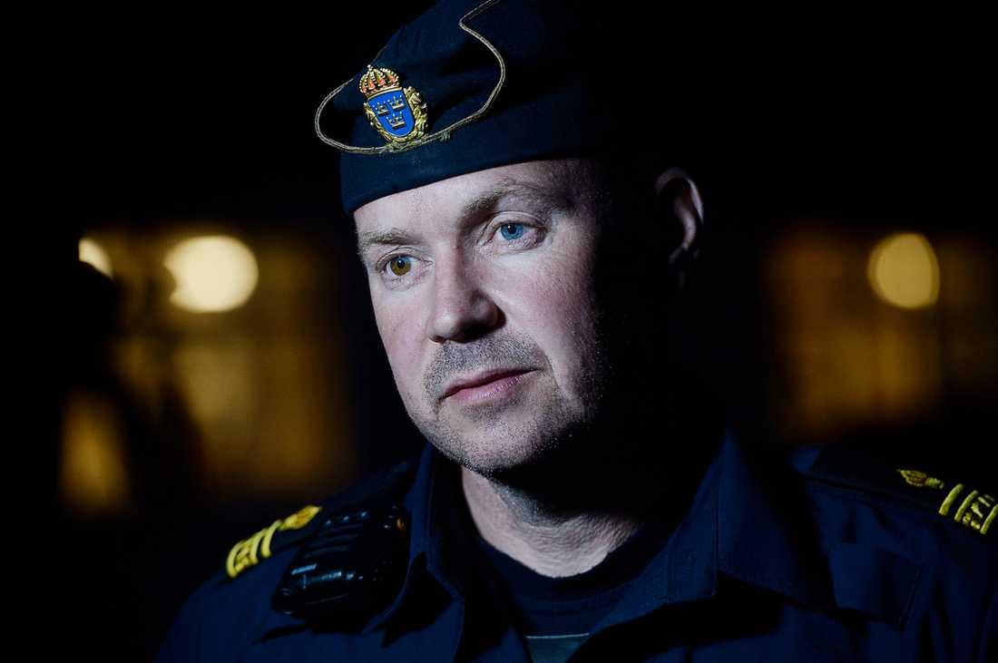 Johan Olsson, yttre befäl, Polisen Gävleborg.