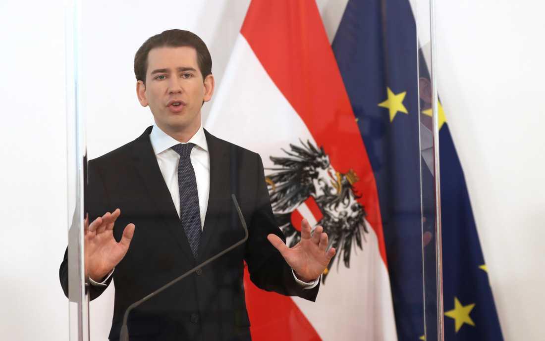 Sebastian Kurz är Österrikes förbundskansler.