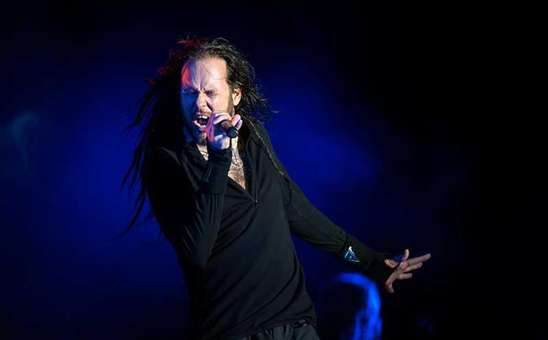 Korn spelade också på Metaltown.