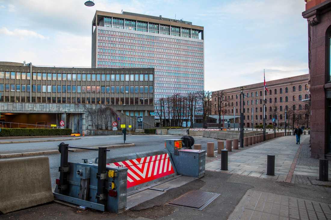 Høyblokka med omnejd i Oslo våren 2017. Arkivbild.