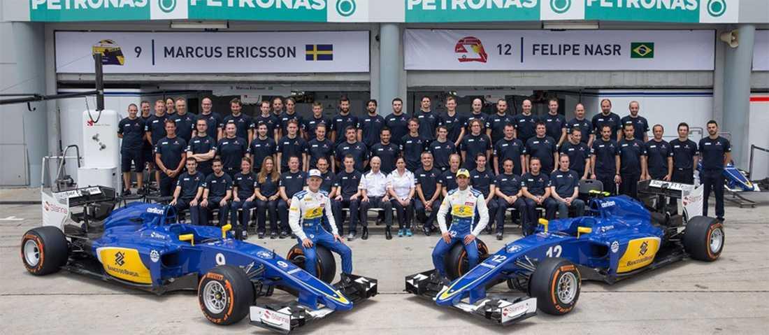 Teamet bakom Ericsson och Nasr.