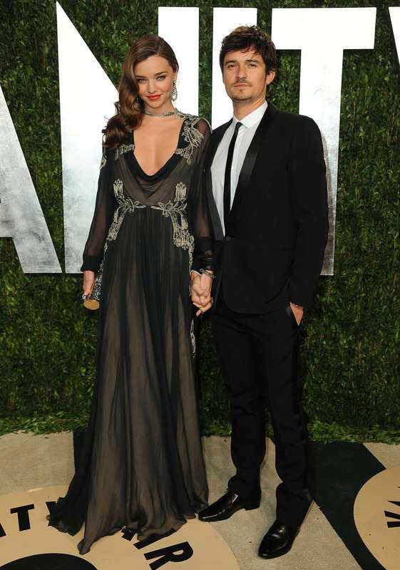 Miranda Kerr och Orlando Bloom var tidigare ett par och har en son tillsammans.