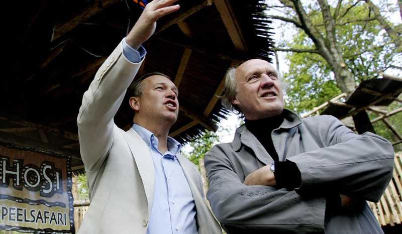 Marcel Boekhoorn, 50, till vänster, uppges vara Spykers nya finansiär.