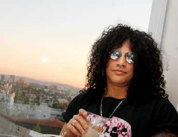 """bittert slut Guns N""""Roses lär inte återförenas. Det säger Slash när Aftonbladet träffar honom i Los Angeles. Han vill nu ut på turné med sitt nya band som drabbats av heroinmissbruk."""