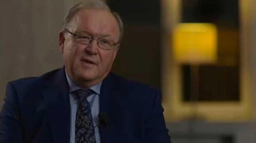Göran Persson gästade SVT:s Agenda.
