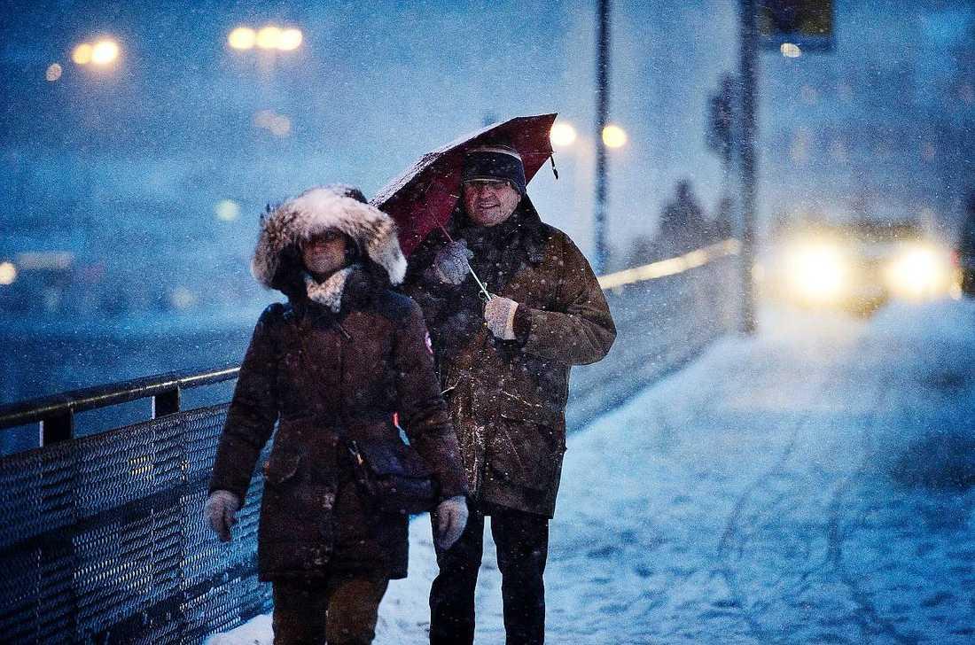 snart tid att bylsa på sig. Amerikanska långtidsprognoser pekar också på att vi kommer få en kall vinter.