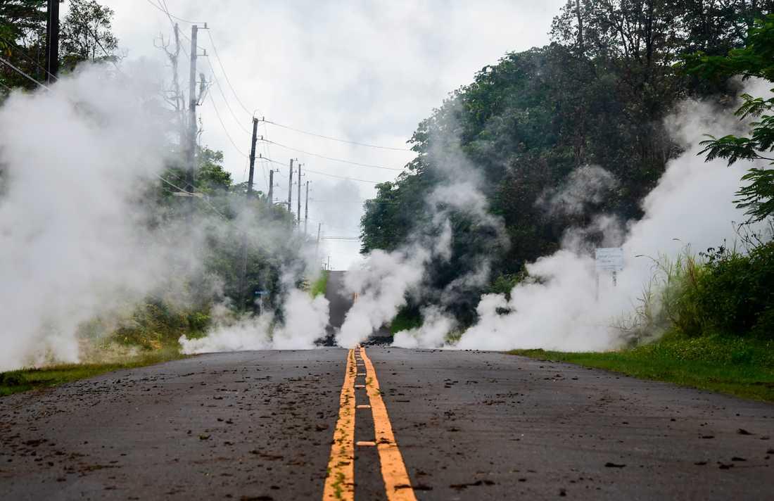 Just nu är antalet utbrott runt om på Hawaii uppe i sex stycken, säger Anna Jakobsson.