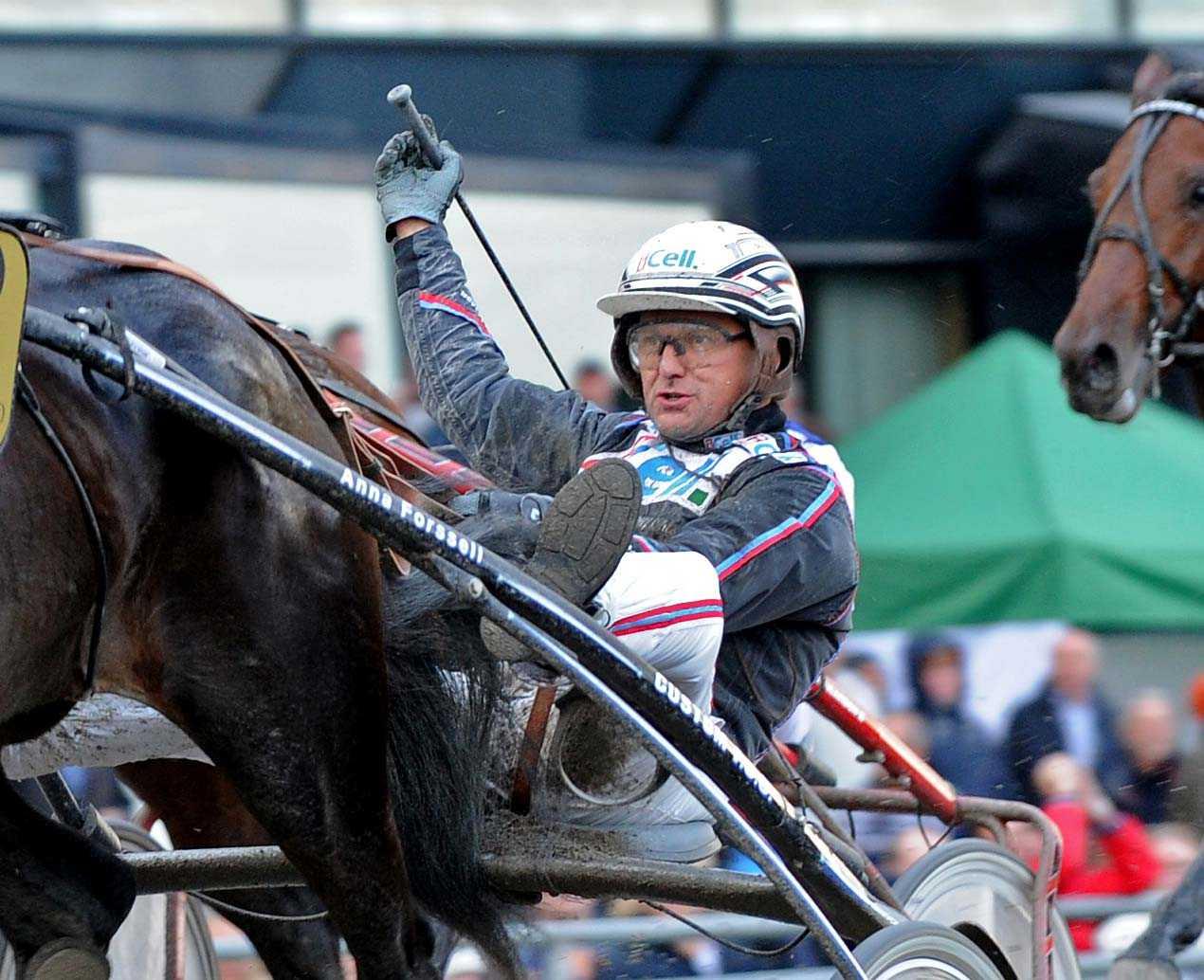 Ulf Ohlsson tror inte att han kommer behålla förstaplatsen i den allsvenska kuskligan.