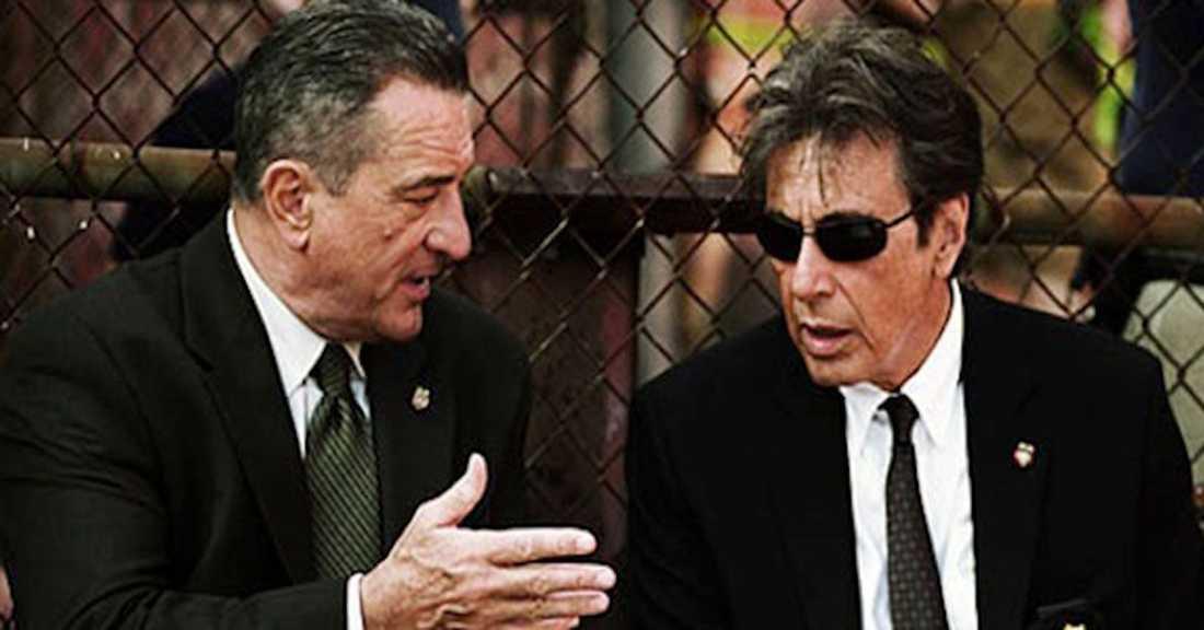 Al Pacino och Robert de Niro.