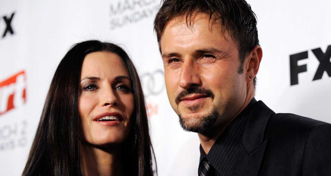 Courteney Cox och hennes ex-make David Arquette.