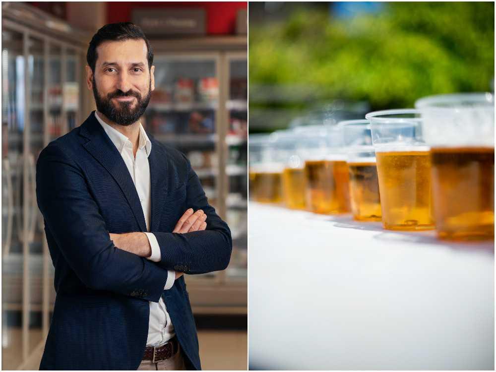 Att välja alkoholfritt har många fördelar, enligt Hemköps försäljningschef Shoan Etemadi.