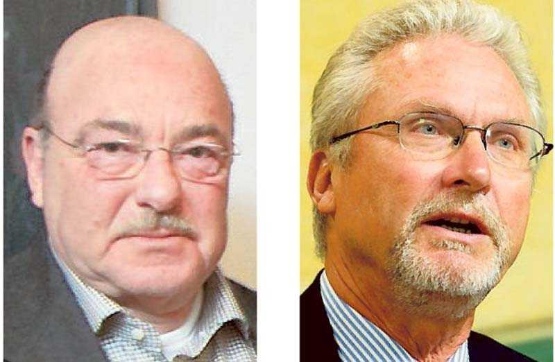 Fred Kahn, judiska församlingen i Malmö och Krister Thelin (M), domare hovrätten.
