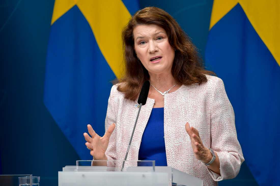 Ann Linde (S), Utrikesminister