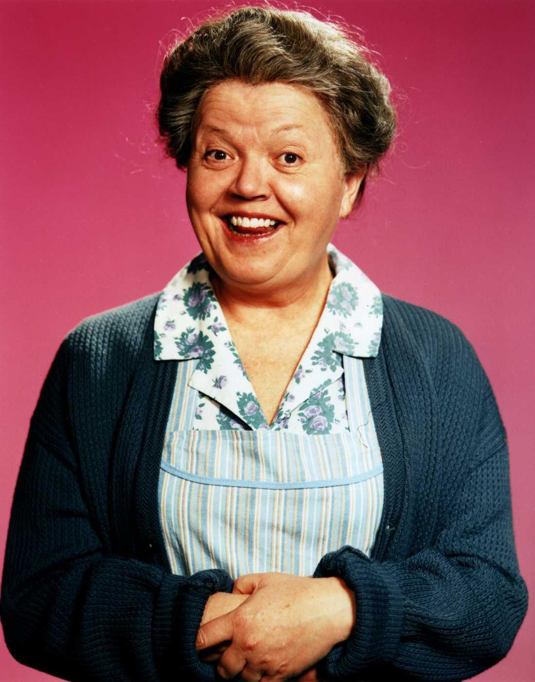"""I mitten av 90-talet spelade Laila """"mormor Alma"""" i filmen Lilla Jönssonligan."""